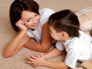 Mother Child Bond Comfort