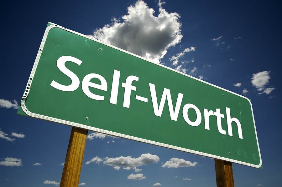 self worth the way people view themselves For people with good self-esteem, normal ups and downs may lead to temporary   these ups and downs drastically impact the way they see themselves.