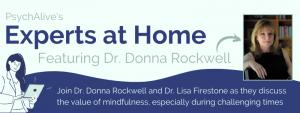 Dr Donna Rockwell mindfulness