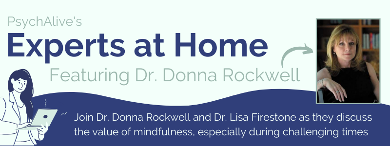 Dr Donna Rockwell mindfulness